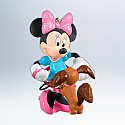 Hallmark 2012 Tangled Up in Fun Ornament Minnie Mouse QXD1641