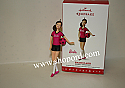 Hallmark 2016 Soccer Player Barbie Ornament QXI3341