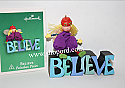 Hallmark 2003 Believe set of 2  Miniature Ornament 2nd in the Paintbox Pixies series  QXM4919