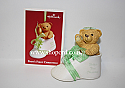 Hallmark 2003 Baby's First Christmas Ornament Shoe QXG8719