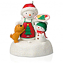 Hallmark 2015 Baking Treats Together Ornament QGO5017