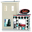 Hallmark 2014 Andy's Cars Ornament 31st in the Nostalgic Houses and Shops series QX9143 Available in July