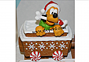 Hallmark Disney Christmas Express Pluto XKT2135 Display No Price Tag