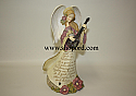 Enesco Foundations Angel with Lute Figurine 4002430