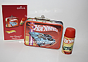 Hallmark 2003 Hot Wheels Ornament set of 2 Lunchbox set QXI8427