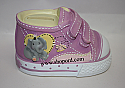 Precious Moments Elsie Elephant Pink Shoe Bank Bazooples 7122403
