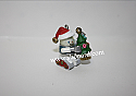 Hallmark 2001 Gearing Up For Christmas Miniature Ornament QXM5352