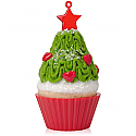 Hallmark 2015 Tasty Tannenbaum Ornament 6th In The Christmas Cupcakes Series QX9177