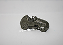 Hallmark 2001 Race Car Miniature Ornament 2nd In The Monopoly Game Advance To Go Series QXM5292