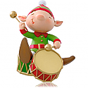 Hallmark 2014 Bang the Drum All Day Ornament QGO1246 Available in July