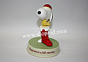Hallmark Peanut Gallery Christmas time with Snoopy and Woodstock - Happiness is a full stocking XKT9004