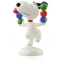 Hallmark 2015 Snoopy Ornament Continuity Peanuts Decking The Tree QRP5913