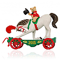 Hallmark 2015 A Pony For Christmas Ornament 18th In The Series QX9149