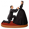 Hallmark 2016 An Honorable Proposal Gone With The Wind Ornament QXI3041