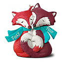 Hallmark 2016 Foxy Pair Ornament QGO1294