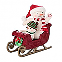 Hallmark Twinkling Sleigh Ride Interactive Techno Plush LPR1133