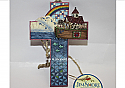 Jim Shore Noah's Ark Cross Hanging Ornament 4008099