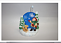 Hallmark 2006 Limited Quantity Catching Snowflakes Ornament QXE3256 Box Bent top corner
