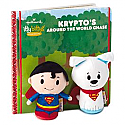 Hallmark itty bittys Storybook: Krypto's Around the World Chase