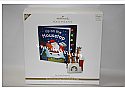 Hallmark 2010 Up on the Housetop Interactive Ornament and Storybook Set QXG7063 Box Damaged