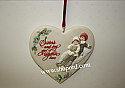 Hallmark 2000 Sister To Sister Ornament QX8144 Damaged Box