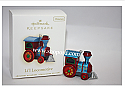 Hallmark 2009 Lil Locomotive Miniature Ornament QXM9025 Damaged Box
