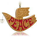 Hallmark 2014 On Wings of Peace Ornament QGO1353