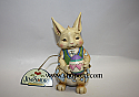 Jim Shore Happy Easter Wishes Pint Bunny Egg with Hearts Figurine 4037676