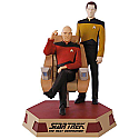 Hallmark 2017 Keepsake Captain Jean-Luc Picard and Lieutenant Commander Data Ornament QXI3402