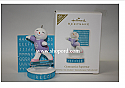 Hallmark 2011 Gymnastics Superstar Ornament Personalization Stickers Damaged Box QXG4369