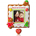 Hallmark 2014 Baby's 1st Christmas One Cute Cookie Photo Holder Ornament QGO1023