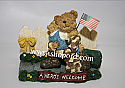 Boyds The Bearstone Collection - Greg and Mattie (Hero's Homecoming) Military #228482