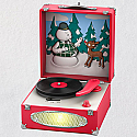 Hallmark 2018 Keepsake Record Player Ornament QXI3283