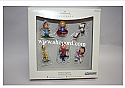 Hallmark 2007 Winter Sports The Peanuts Gang set of 6 Miniature ornament QXM8149 Damaged Box