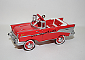 Hallmark 2015 Kiddie Car Classics 1957 Chevrolet Bel Air Keepsake Ornament QEP2179