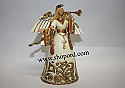 Jim Shore Ivory and Gold Angel Hanging Ornament 4023471