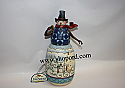 Jim Shore Home For The Holidays Snowman Winter Scene Classic Figurine 4017668