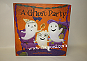 Hallmark Halloween A Ghost Party Hardcover Book HGN5042