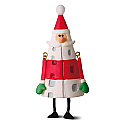 Hallmark 2016 Happy Ho Ho Holidays Santa Ornament LPR3361