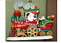 Hallmark 2016 Santas Christmas Train Keepsake Repaint Ornament Club KOC QXC5114