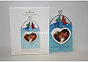 Hallmark 2010 First Christmas Together Christmas Photo Holder Ornament QXG7506