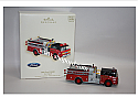Hallmark 2007 Ford 1988 C8000 Fire Brigade Ornament 5th in the series (Magic) QX2607