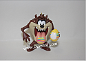 Hallmark 2001 Taz Paint Egg Looney Tunes Spring Ornament QEO8572 Damaged Box