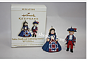 Hallmark 2006 Yankee Doodle and Celebrating America Madame Alexander Miniature set of 2 QXM2103