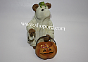 Boyds The Bearstone Collection - Boo with Lil Croaks (Night of Spooks) #4016647