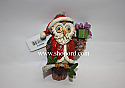 Jim Shore Christmas Owl Hanging Ornament 4034412