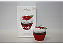 Hallmark 2010 Oh So Sweet Christmas Cupcakes Ornament 1st in the Series QX3073