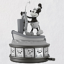 Hallmark 2018 Keepsake Steamboat Willie Ornament QXD6206