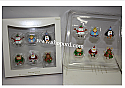 Hallmark 2007 Dancing Friends ornament set of 6 Miniature QXM8159