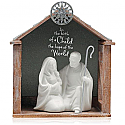 Hallmark 2015 Hope Of The World Nativity Ornament QGO1517